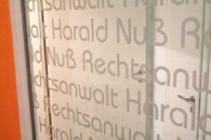 Rechtsanwalt Harald Nuß - Schwerpunkte